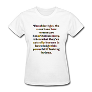 Crazy - Women's Favorite Tee - white