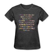 Crazy - Women's Favorite Tee - heather black