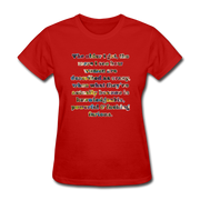Crazy - Women's Favorite Tee - red