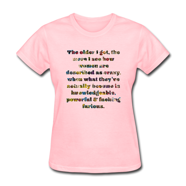 Crazy - Women's Favorite Tee - pink