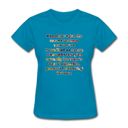 Crazy - Women's Favorite Tee - turquoise