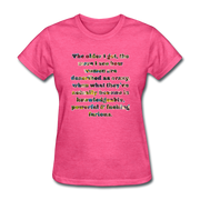 Crazy - Women's Favorite Tee - heather pink