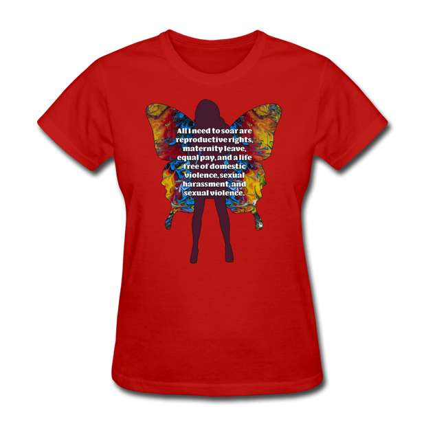 All I Need - Women's Favorite Tee (Charity Collection) - red