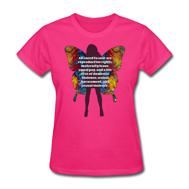 All I Need - Women's Favorite Tee (Charity Collection) - fuchsia