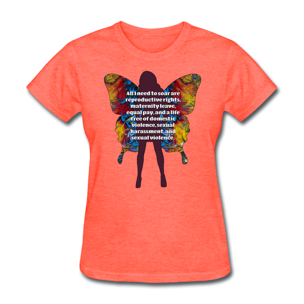 All I Need - Women's Favorite Tee (Charity Collection) - heather coral