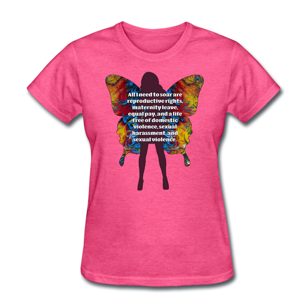 All I Need - Women's Favorite Tee (Charity Collection) - heather pink