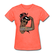 La Luna - Women's Favorite Tee - heather coral