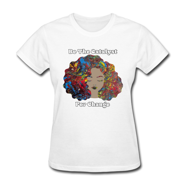 Catalyst - Women's Favorite Tee (Charity Collection) - white