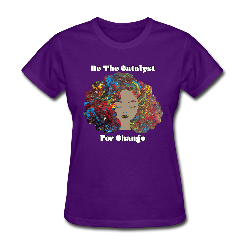 Catalyst - Women's Favorite Tee (Charity Collection) - purple