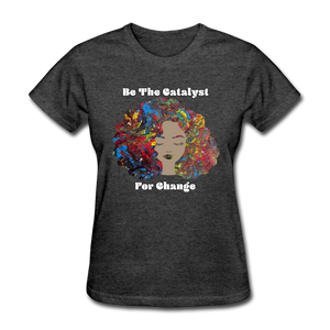 Catalyst - Women's Favorite Tee (Charity Collection) - heather black