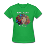 Catalyst - Women's Favorite Tee (Charity Collection) - bright green