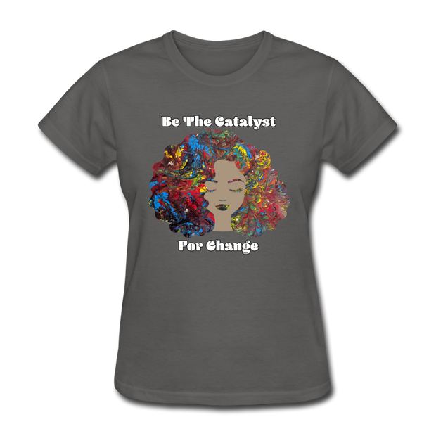 Catalyst - Women's Favorite Tee (Charity Collection) - charcoal