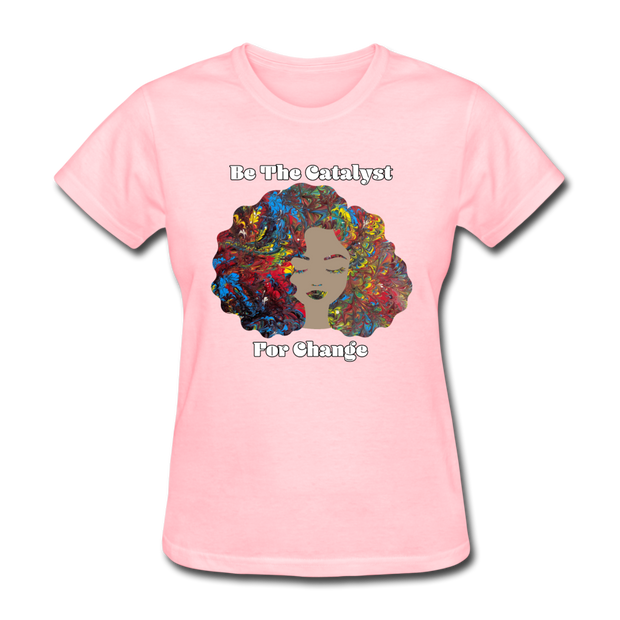 Catalyst - Women's Favorite Tee (Charity Collection) - pink