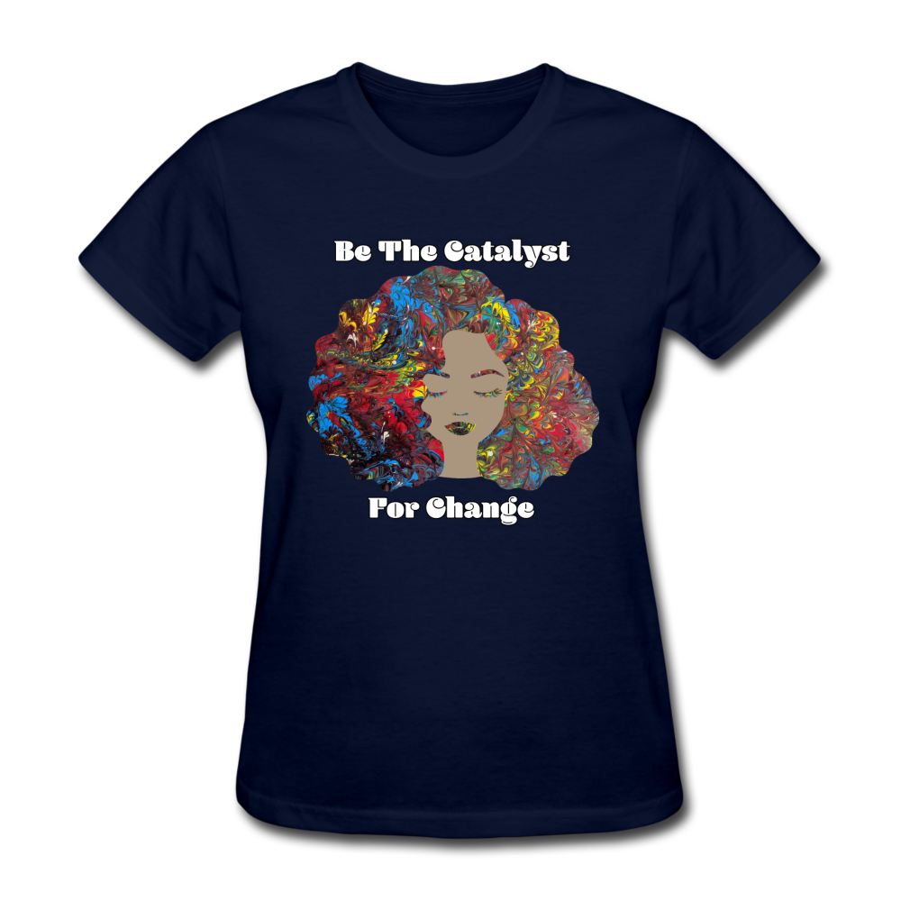 Catalyst - Women's Favorite Tee (Charity Collection) - navy