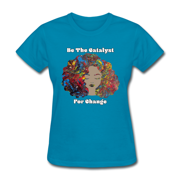 Catalyst - Women's Favorite Tee (Charity Collection) - turquoise