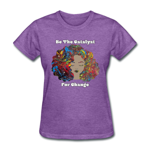 Catalyst - Women's Favorite Tee (Charity Collection) - purple heather
