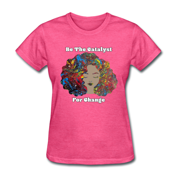 Catalyst - Women's Favorite Tee (Charity Collection) - heather pink