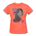 We Rise - Women's Favorite Tee - heather coral