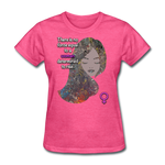 We Rise - Women's Favorite Tee - heather pink