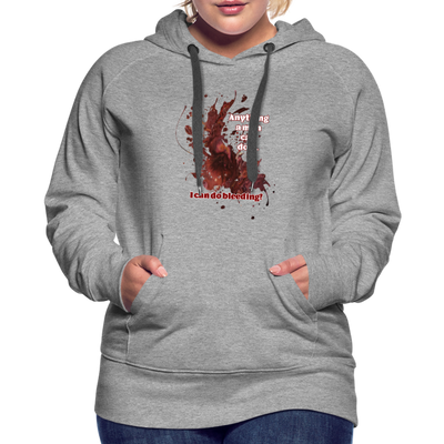 I Can - Women's Premium Hoodie - heather gray