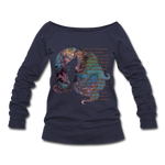 Stronger - Women's Wideneck Sweatshirt - melange navy