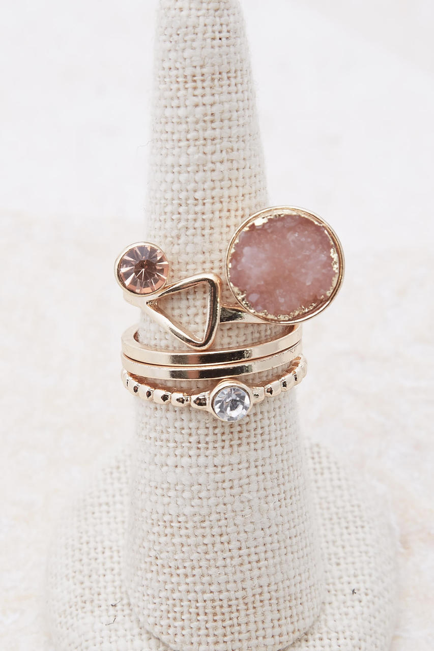 Rory Statement Ring Set