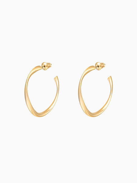 Leslie Hoop Earrings