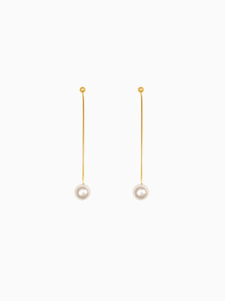 Dangled Pearl Earrings