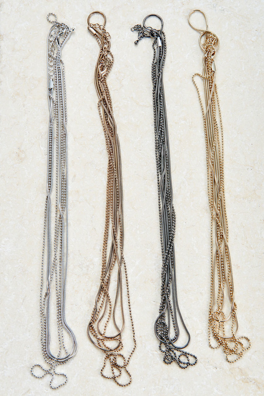 Long Brittany Layered Necklace