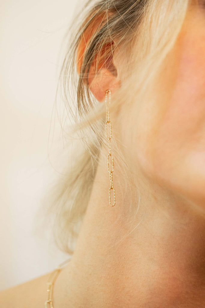 Sinai Chain Earrings