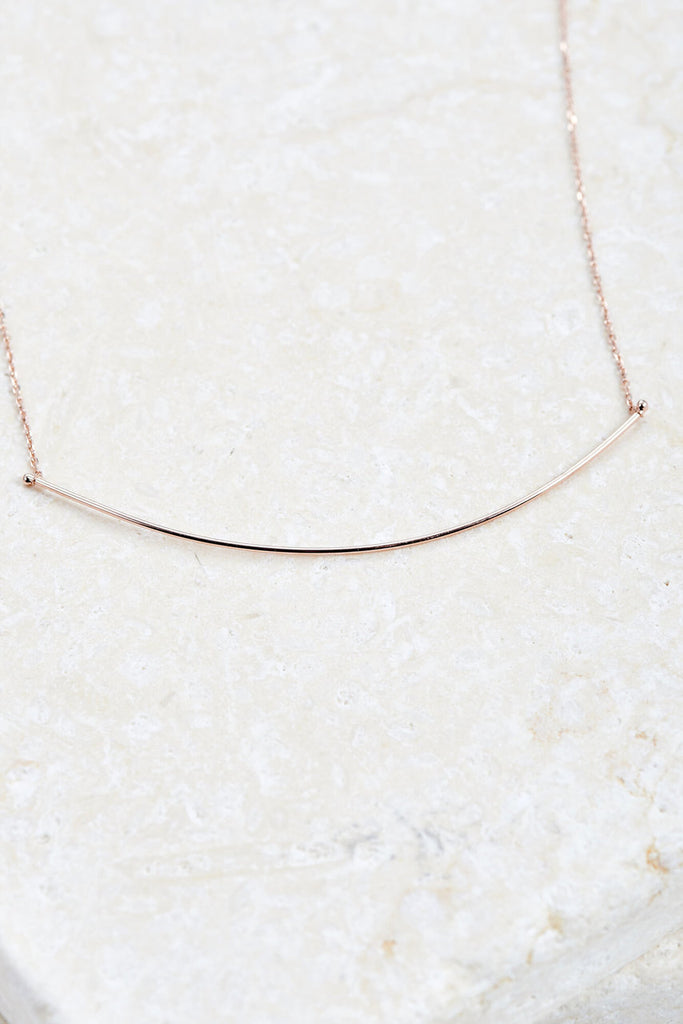 Streamline Bar Necklace