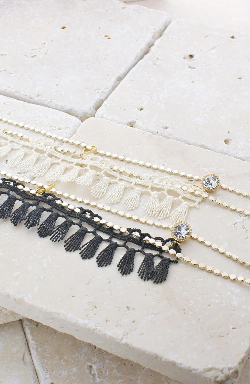 Tatiana Lariat Necklace