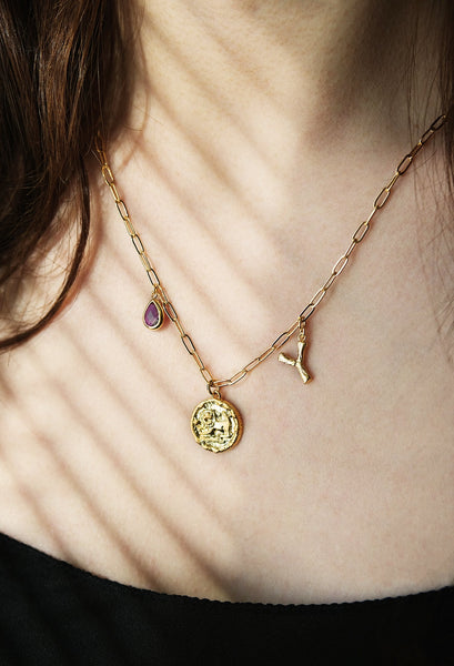 Personalized constellation Initial Necklace