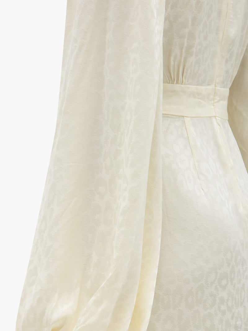 Rat & Boa Isabella Dress - Ivory - Dress Hire NZ
