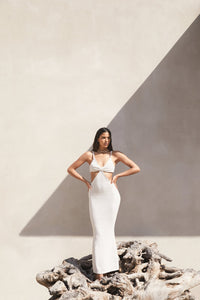 Cult Gaia Serita Dress - Off White - Dress Hire NZ