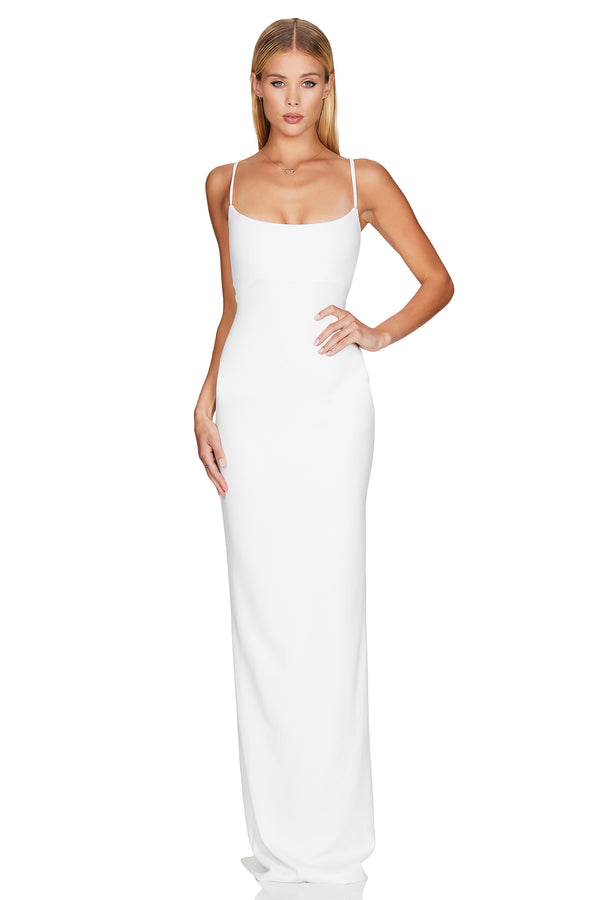 Nookie Bailey Gown - Ivory - Dress Hire NZ