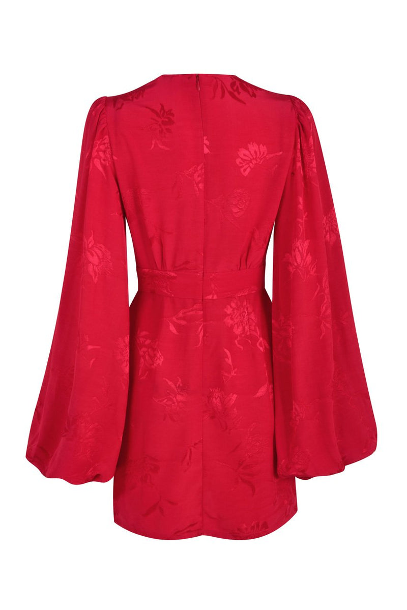 Rat & Boa Isabella Dress - Red - Dress Hire NZ