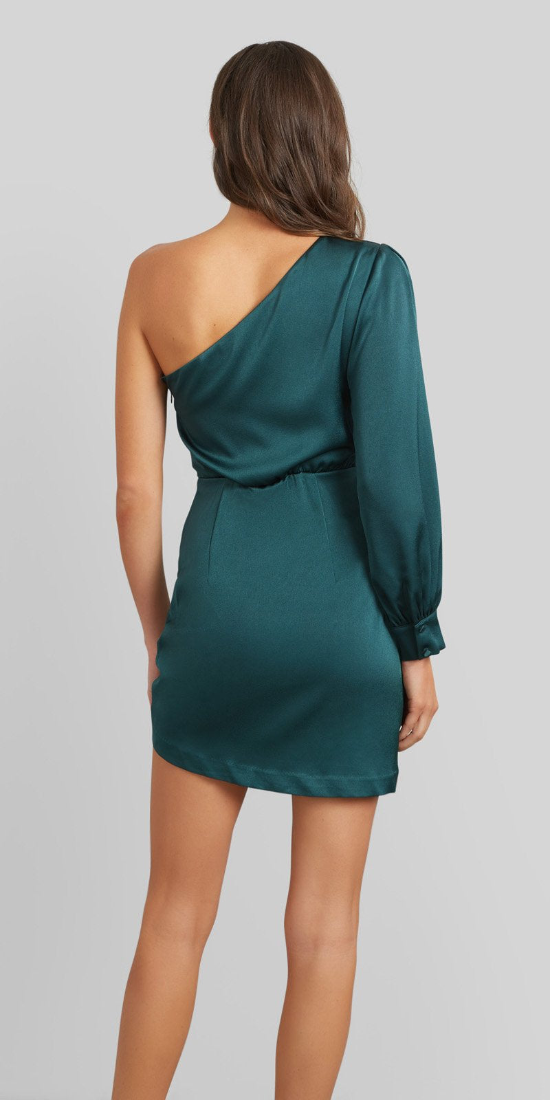 Kookai Vangeline Dress - Pine - Dress Hire NZ