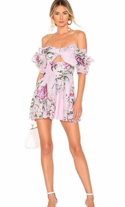Alice McCall Peony Dress - Lilac - Dress Hire NZ