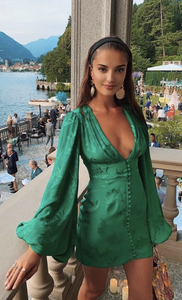 Rat & Boa Isabella Dress - Emerald - Dress Hire NZ