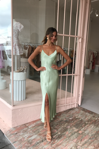 Bec & Bridge Crest Midi - Peppermint - Dress Hire NZ