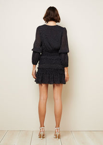 The East Order Behati Mini Dress - Black - Dress Hire NZ