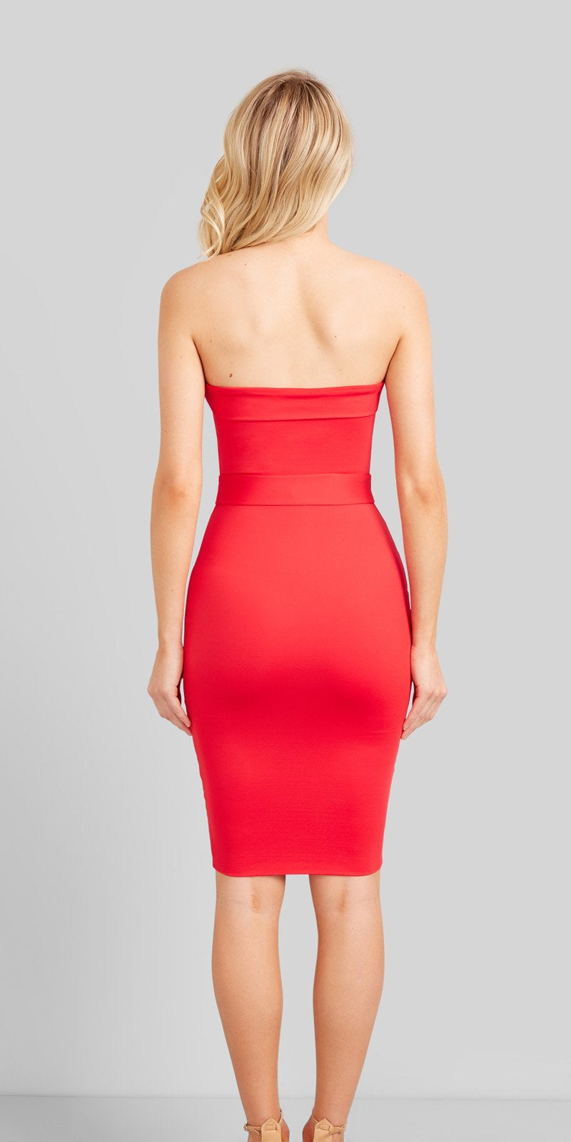 Kookai Oakley Dress - Red - Dress Hire NZ