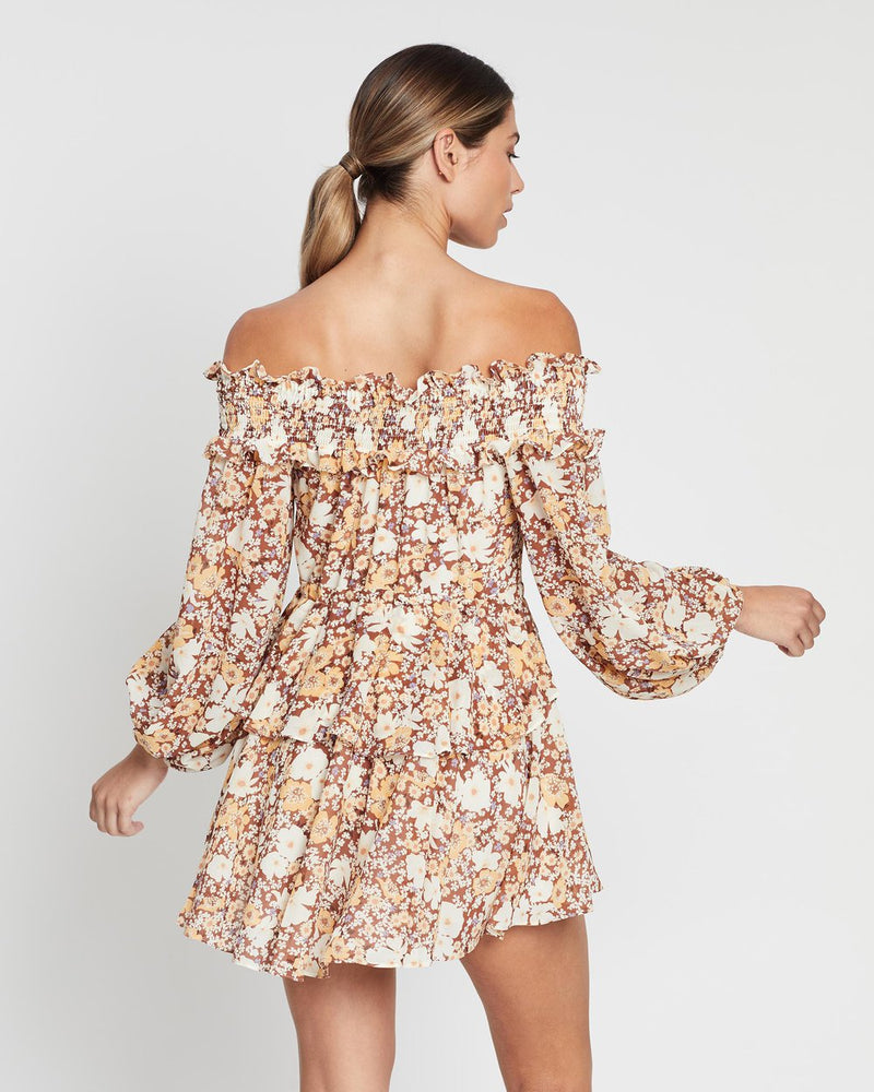 Shona Joy Dixie Off The Shoulder Mini - Dress Hire NZ
