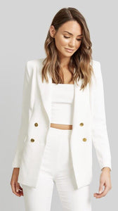 Kookai Oyster Blazer - Dress Hire NZ