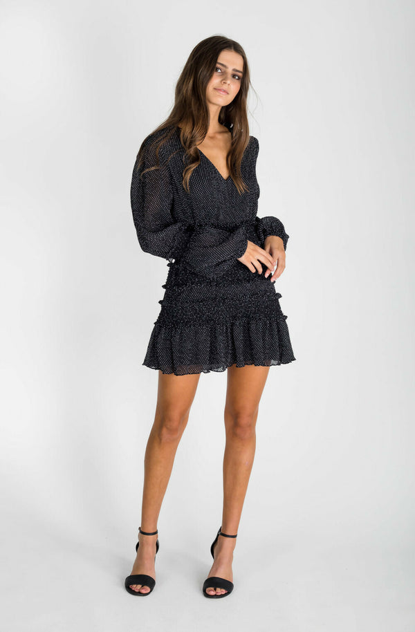 The East Order Behati Mini Dress - Black