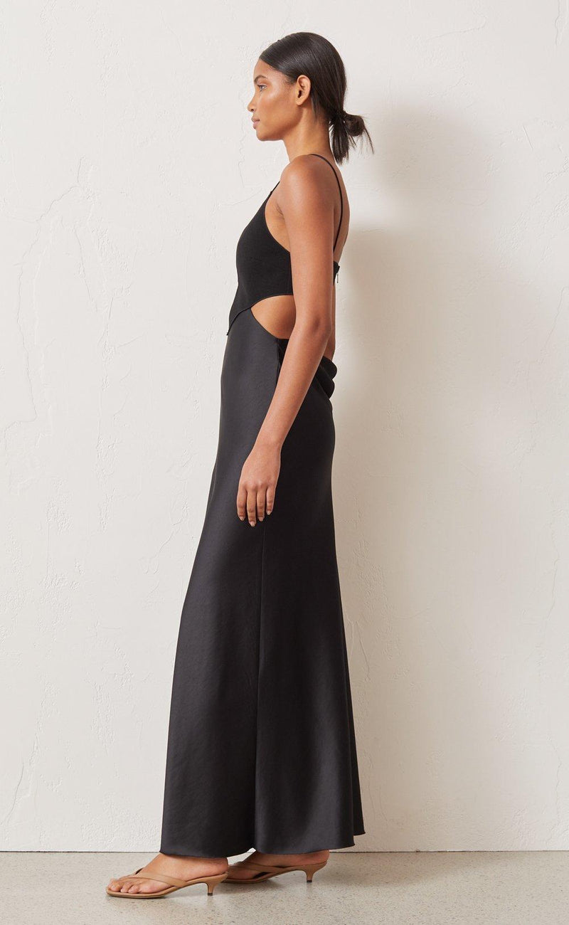 Bec & Bridge Seraphine Plunge Midi - Dress Hire NZ