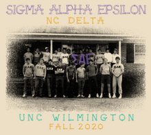 Load image into Gallery viewer, Sigma Alpha Epsilon University of North Carolina Wilmington Fall Rush Design 2020