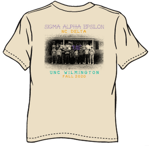 Sigma Alpha Epsilon University of North Carolina Wilmington Fall Rush Design 2020