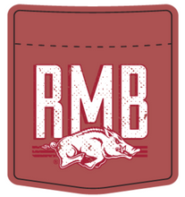 Load image into Gallery viewer, Razorback Marching Band Pocket Tee Design 2020